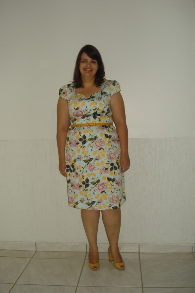 #LookdeAnoNovo Plus Size Ana