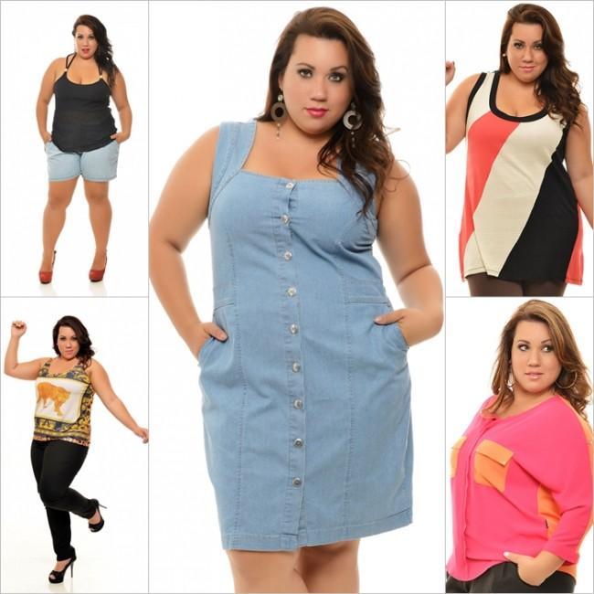 Resultado de imagem para roupas plus size loja vk