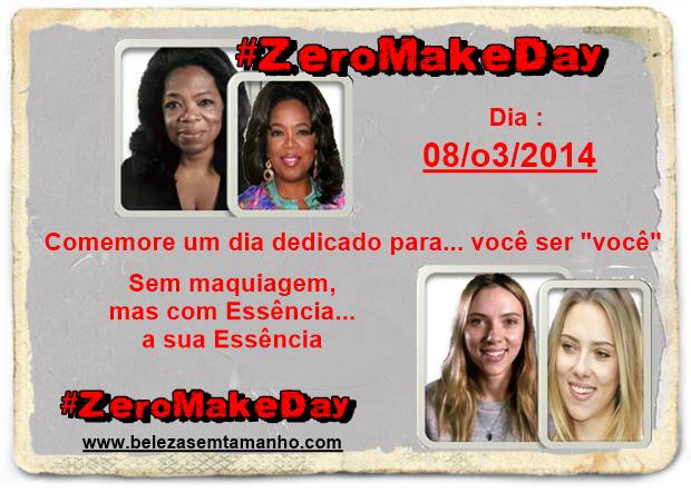 #ZeroMakeDay