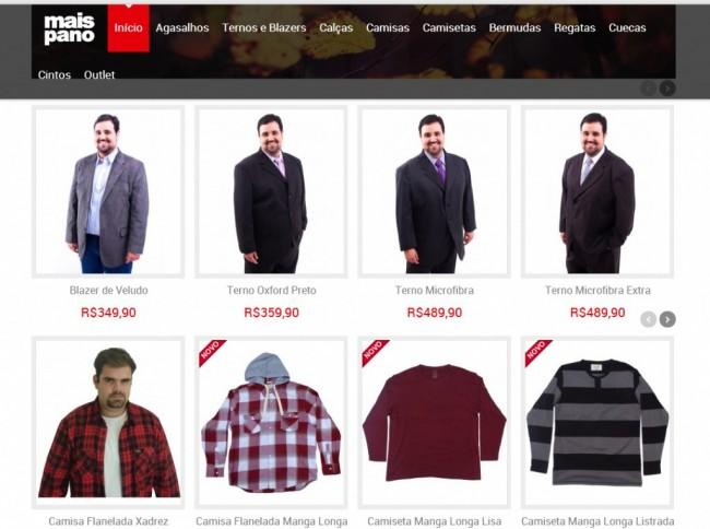 Lojas Virtuais Plus Size Masculino