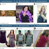 II #BelezaSemTamanho no Instagram