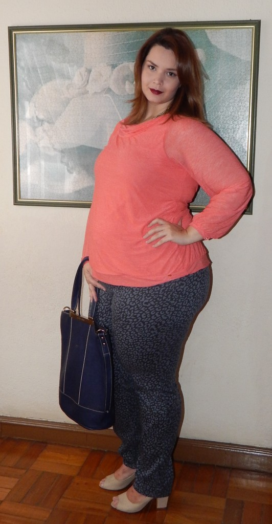 Look Plus Size Grávida Fashion  (1)