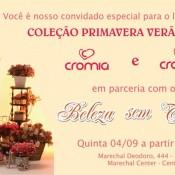 Cromia Plus: Convida para lançamento em Juiz de Fora!