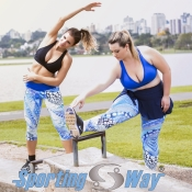 Fitness Plus Size – Sporting Way – Verão 2015