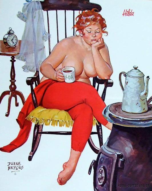 Gordinha - hilda-pinup-girl-coffee-by-duane-bryers
