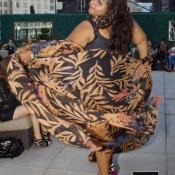 Priscila Marinho desfila na semana de moda de Nova-York!