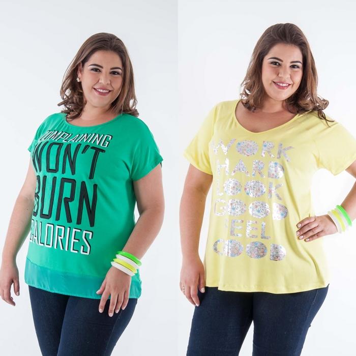 t-shirts plus size candelabro