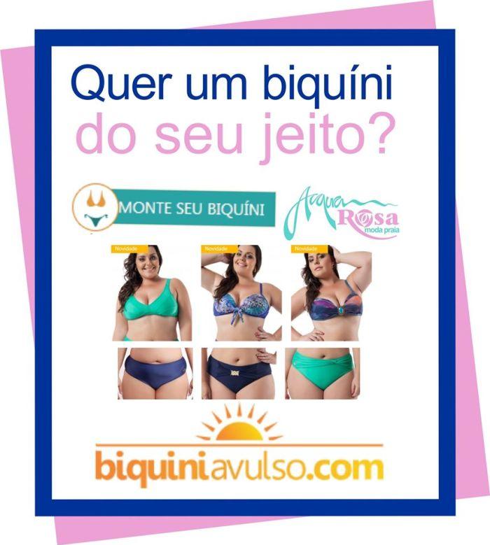 Moda Praia Plus Size biquini avulso