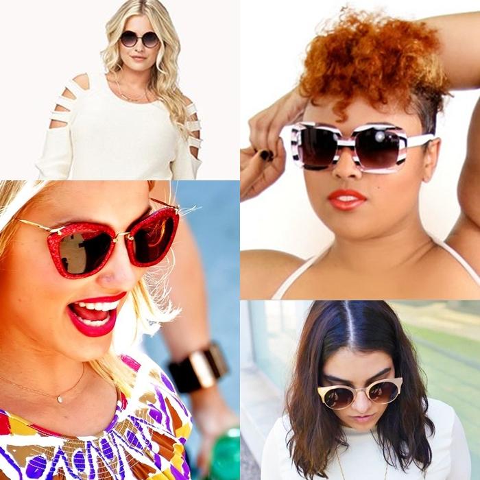 cf3a9edd05231 Óculos de Sol para gordinhas! – Beleza Sem Tamanho   Beleza Sem Tamanho