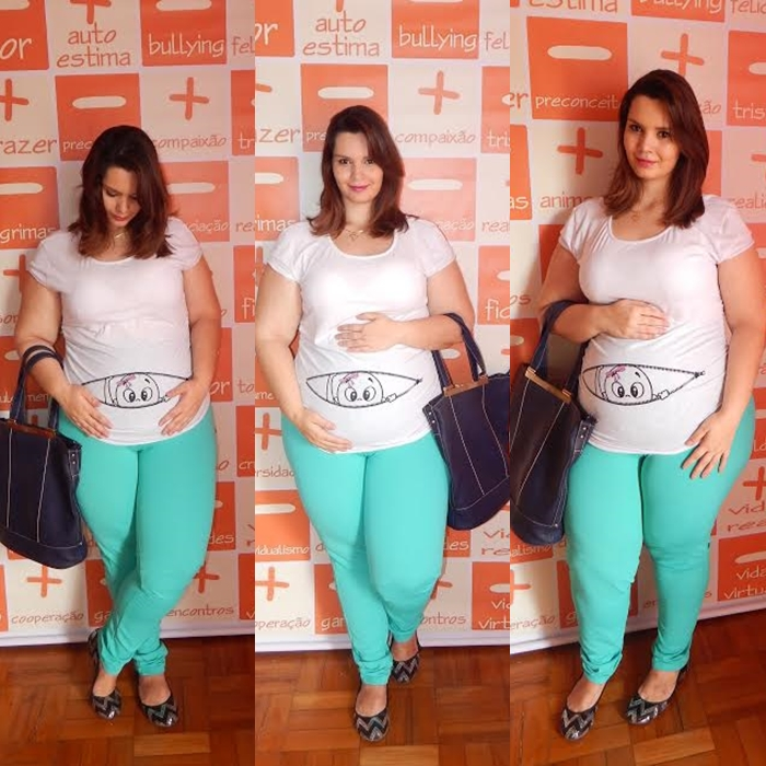 Look Plus Size Grávida  (2)