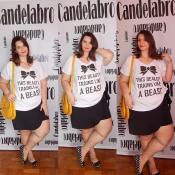 Looks Plus Size Candelabro: T-shirts e saias? <3