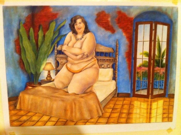 Minha mulher virou obras de arte (2)