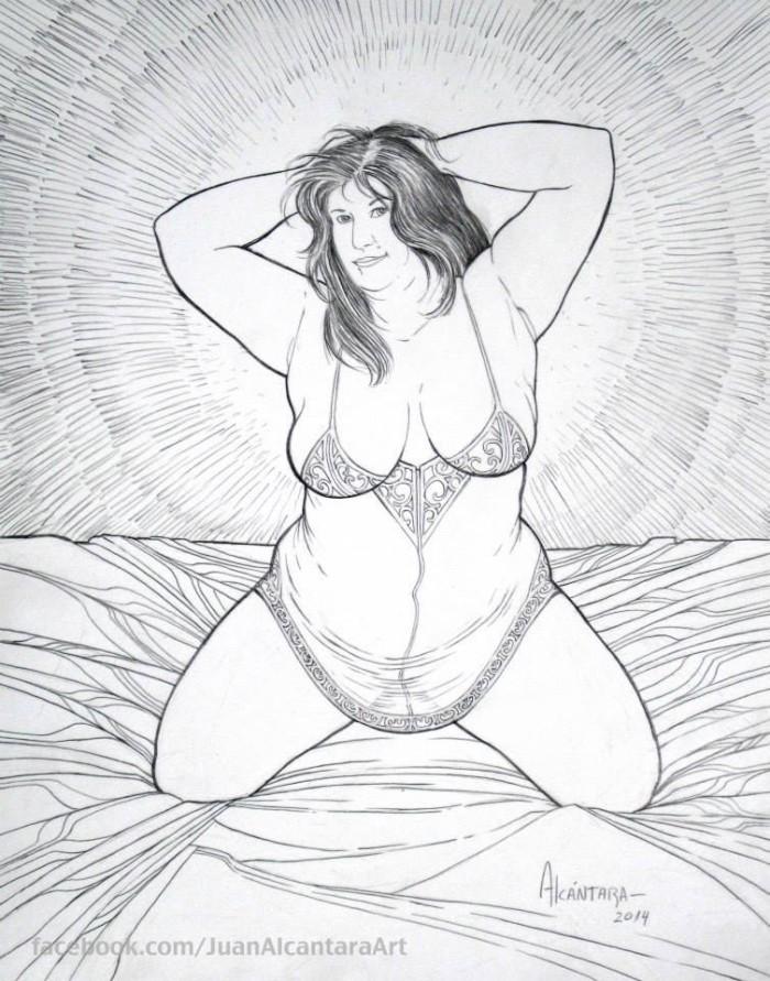 Minha mulher virou obras de arte (5)