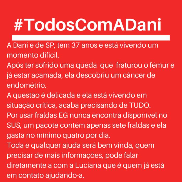 #TodoscomaDani