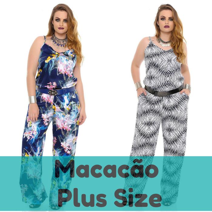 Macacão plus size