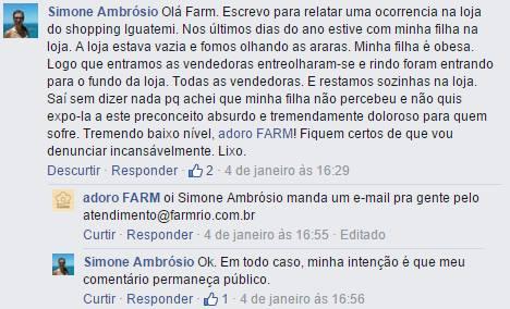 Farm Gordofobia e Desrespeito