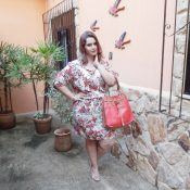 Vestido Estampado Plus Size by Chic e Elegante