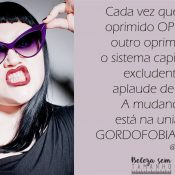 Ativista propaga gordofobia na internet!