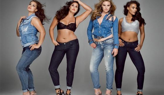 Modelos Plus Size quase nunca são gordas! (2)