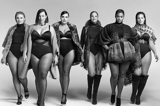 Modelos Plus Size quase nunca são gordas! (3)