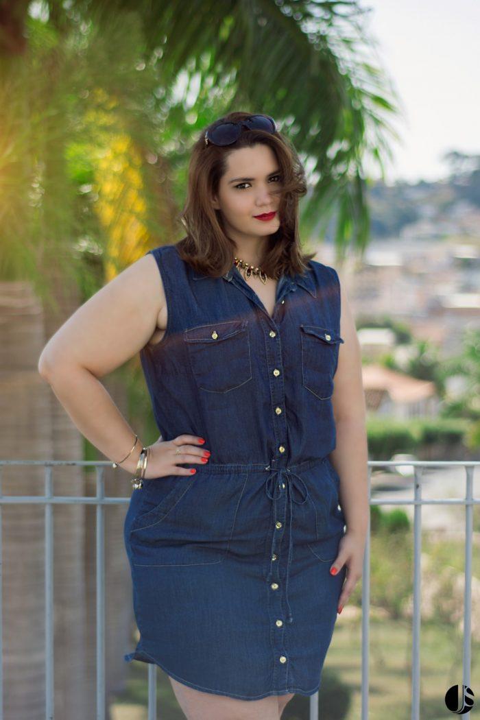 Vestido Jeans Plus Size (5)