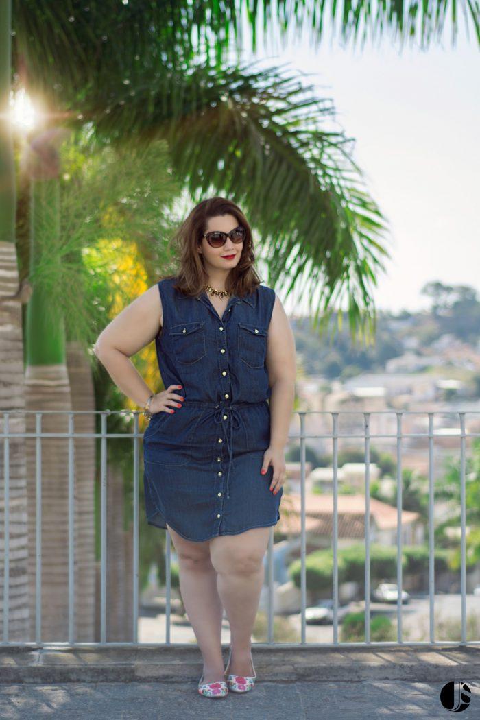 Vestido Jeans Plus Size (6)