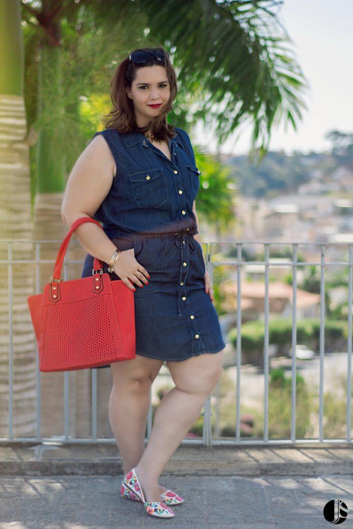 Vestido Jeans vk moda plus size (1)