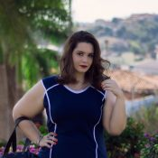 Vestido Navy – Look Liló Fashion Plus Size