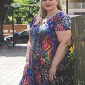 Macaquinho Plus Size – Look Amaryllis