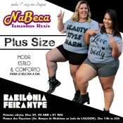 Vai ter moda Plus Size na Babilônia Feira Hype!