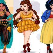 Princesas da Disney – Versão Plus Size