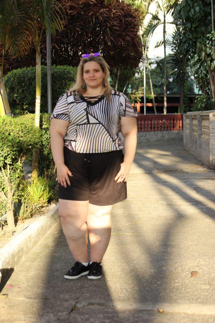 gorda de short