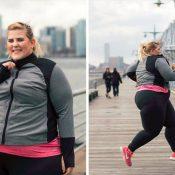 Blogueira Plus Size é alvo de críticas ao estrelar campanha de moda Fitness