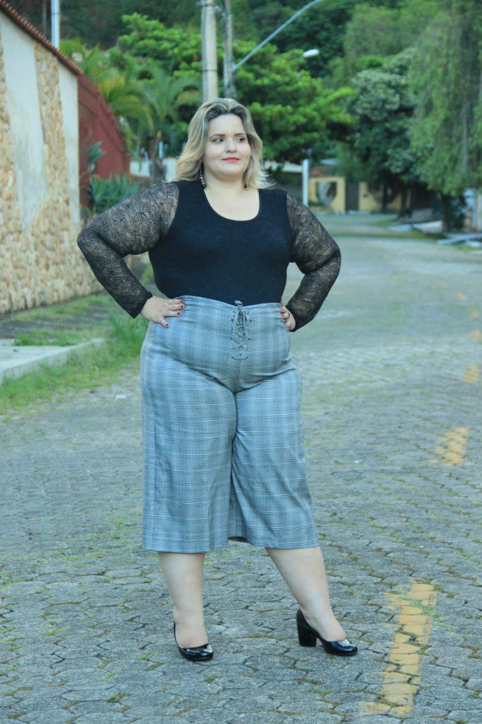 Pantacourt Plus Size