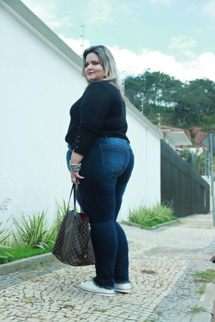 Jeans para todas as gordas