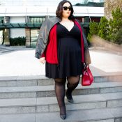 A marca Simone Troiano lança editorial de Moda Plus Size com uma mulher Gorda